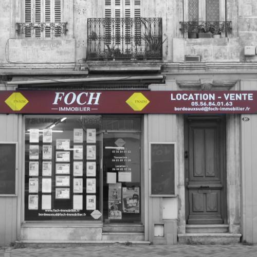 Agence Foch immobilier - 31 route de Toulouse à Bordeaux